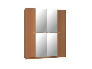 Шкаф четырехдверный ШК-1 Соната 2 - Мебельная фабрика «ФКМ-продукт» г. Магнитогорск