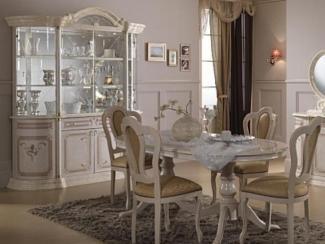 Гостиная стенка «Роза беж» - Оптовый мебельный склад «Дина мебель»
