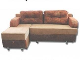 Коричневый угловой диван Верона