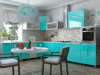 Кухонный гарнитур угловой Волна - Изготовление мебели на заказ «Оптимум»