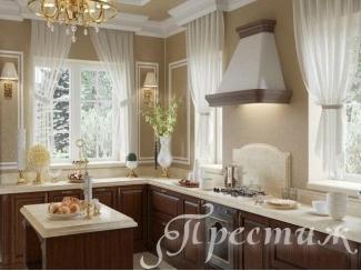 Кухня из массива дерева VITTORIA - Мебельная фабрика «Престиж»