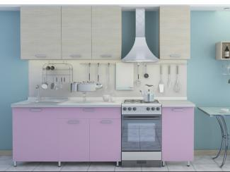 кухня прямая БельКанто фасады ЛДСП - Мебельная фабрика «Форс»