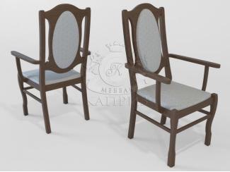 Кресло 9 из массива березы - Мебельная фабрика «Каприз»