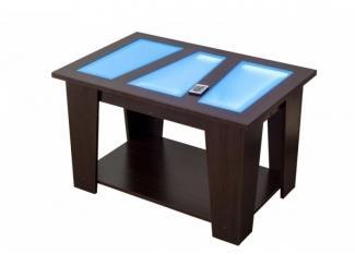 Журнальный стол с подсветкой  - Мебельная фабрика «Премиум»