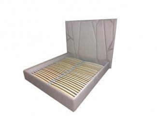 Кровать с высоким изголовьем - Мебельная фабрика «Софт»