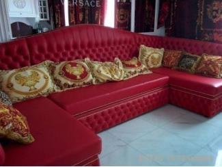 Красный модульный диван - Мебельная фабрика «ESTET INTERIORS»