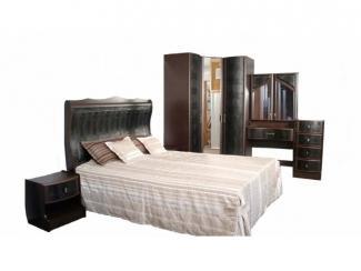 Черная спальня Жасмин Стронг - Мебельная фабрика «Веста»
