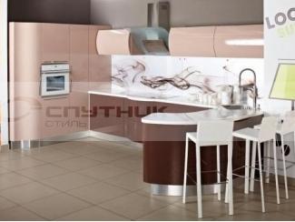 Кухня угловая Волна - Мебельная фабрика «Спутник стиль»