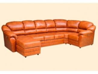 Оранжевый диван Империя 14