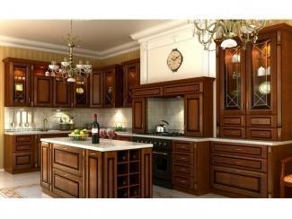 Угловая кухня с островком Классика  - Мебельная фабрика «Вектра-мебель»