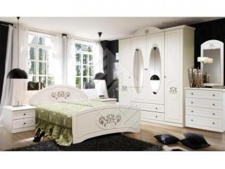 Белая спальня Арина  - Мебельная фабрика «Молодечномебель»