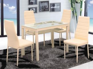 Обеденная группа 828-2 BEIGE - Импортёр мебели «Мебель Глобал (Малайзия, Китай, Тайвань)», г. Краснодар