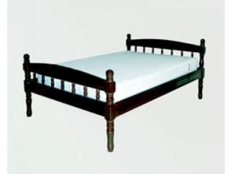 Кровать двуспальная из сосны - Мебельная фабрика «Мартис Ком»