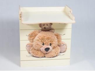 Детский комод Мишки - Мебельная фабрика «Папа Карло»