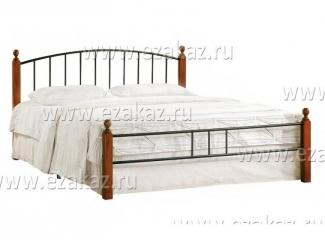 Кровать двуспальная AT 915  - Мебельный магазин «Тэтчер»
