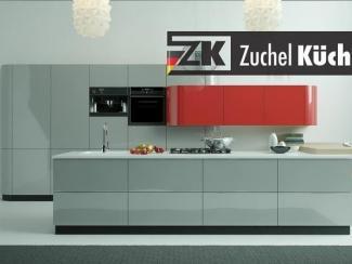 Кухонный гарнитур прямой Бонн Коралл - Мебельная фабрика «Zuchel Kuche (Германия-Белоруссия)»
