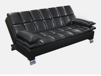 Черный диван Кардинал  - Мебельная фабрика «Радуга»