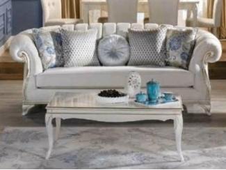 Элитный прямой диван Седеф - Импортёр мебели «Bellona (Турция)»