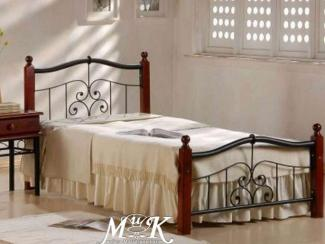 Кровать Темная вишня