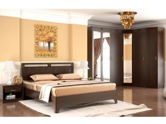 Спальный гарнитур Сьюзан Венге - Мебельная фабрика «Уфамебель»