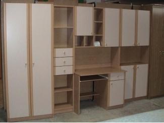 Стенка с рабочим местом  - Мебельная фабрика «Орвис»