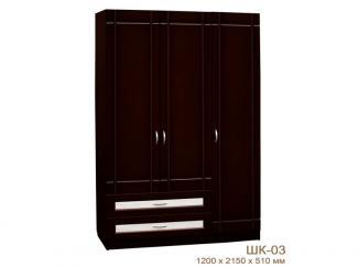 Шкаф ШК-03 - Мебельная фабрика «Брянск-мебель»