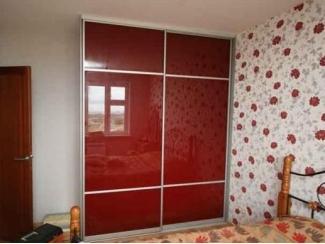 Красный глянцевый шкаф-купе - Мебельная фабрика «Интерьер»