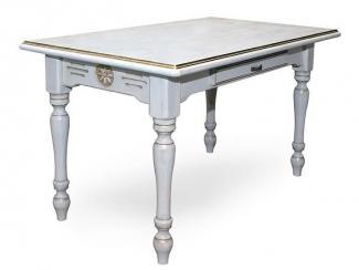 Стол из массива (Ст.B820.L1400.winter) - Мебельная фабрика «Грин Лайн»