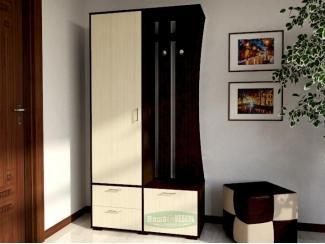 Черно-белая прихожая ПР 13  - Мебельная фабрика «Ваша мебель»