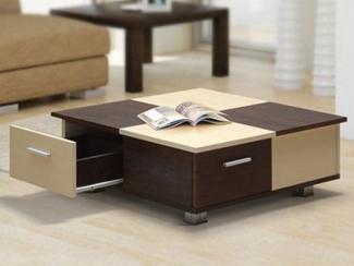 Стол журнальный Домино-2 - Мебельная фабрика «МебельШик»