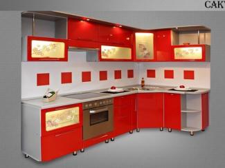 Кухня угловая Сакура - Мебельная фабрика «Нильс»