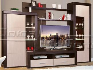Гостиная стенка Корсика - Мебельная фабрика «Союз-мебель»