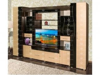 Гостиная стенка Прима  - Мебельная фабрика «Росток-мебель»