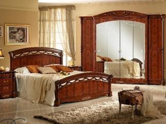 Спальный гарнитур «Россела орех»