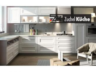 Кухонный гарнитур угловой Мангейм Уайт - Мебельная фабрика «Zuchel Kuche»