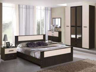 Спальня модульная Татьяна комплектация 1 - Мебельная фабрика «Аристократ»