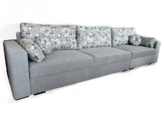 Большой серый диван Лагуна  - Мебельная фабрика «Вега»