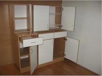 Кухня с фасадом из ЛДСП 5 - Мебельная фабрика «Кух-Мастер»
