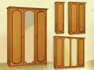 Шкаф распашной «Шк-1» - Мебельная фабрика «Мебель Прогресс»