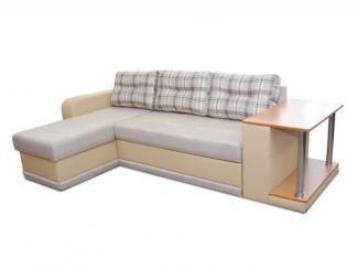 Угловой диван Квадро с оттоманкой - Мебельная фабрика «Норма»