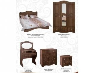 Спальный гарнитур Купидон Патина - Мебельная фабрика «Премиум» г. Дзержинск