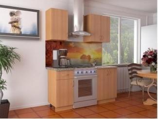 Кухня прямая Бук - Мебельная фабрика «Эстель»