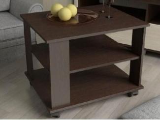 Журнальный стол с полочками №9 - Изготовление мебели на заказ «Мебель для вашего дома»