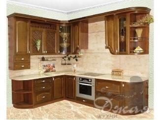 Коричневая кухня - Мебельная фабрика «Джая»