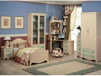 Мебель для детской Николь Зеленая  - Мебельная фабрика «Дива мебель», г. Москва