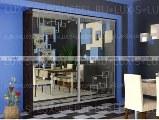 Шкаф-купе 21 - Мебельная фабрика «Люкс-С»