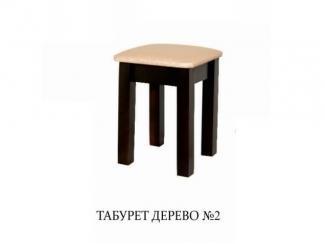 Табурет дерево 2 - Мебельная фабрика «Мир стульев», г. Кузнецк
