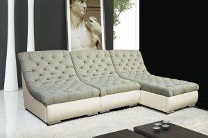 Модульный диван с оттоманкой Инфинити - Мебельная фабрика «АРТмебель»