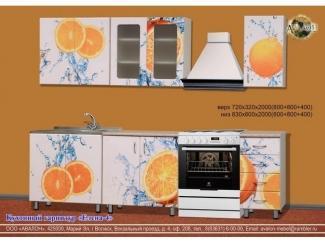 Яркий кухонный гарнитур Елена 4 - Мебельная фабрика «Авалон»
