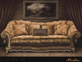 Диван прямой Портос  - Импортёр мебели «InStyle»